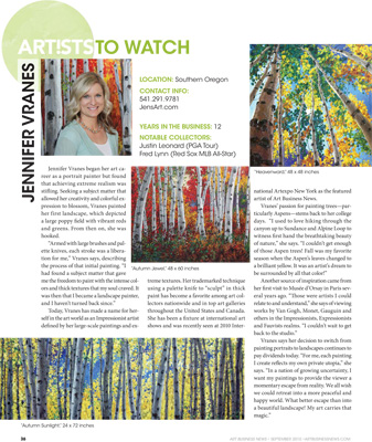 Aspen Artist Magazine Article