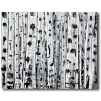 Aspen Art, Birch Tree Paintings