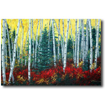 Aspen Art and Birchtree paintings