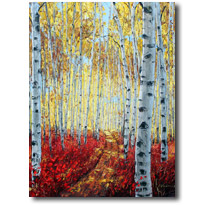 Aspen Painitings by Jennifer Vranes